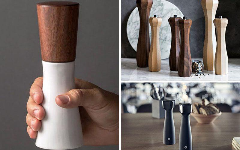 Необходимые Кухонные инструменты – соль и перец мельницы