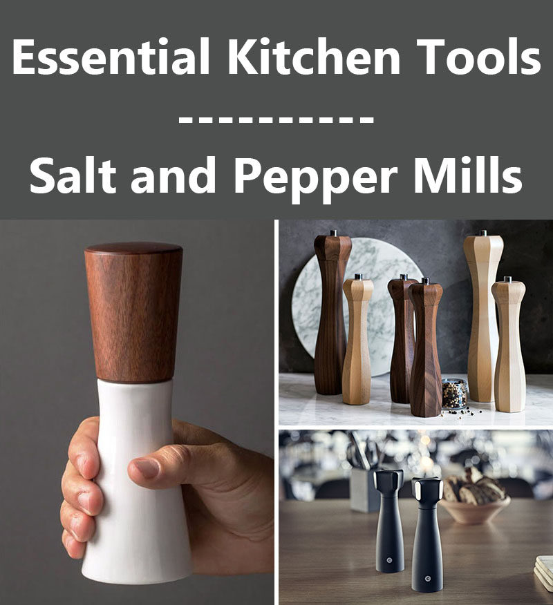 Essential Kitchen Tools - Salt and Pepper Mills