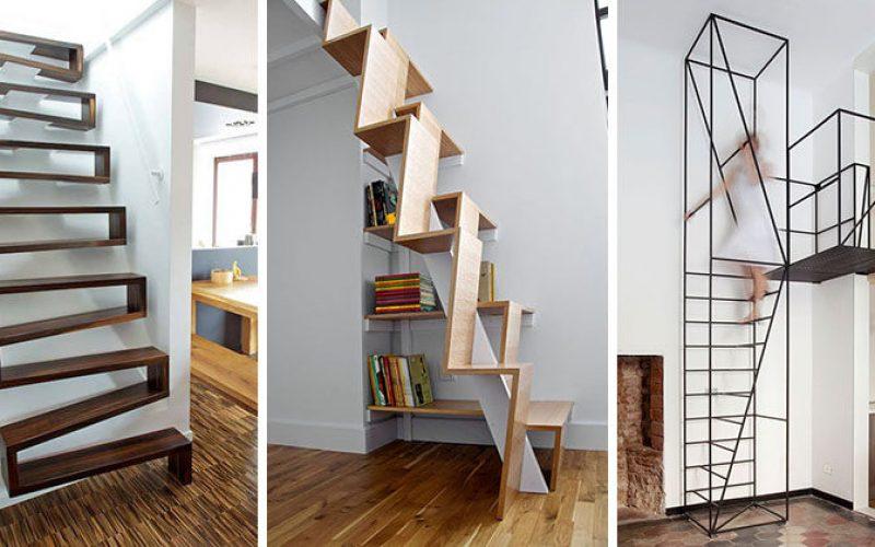 13 Дизайн Лестницы Идеи Для Небольших Помещений