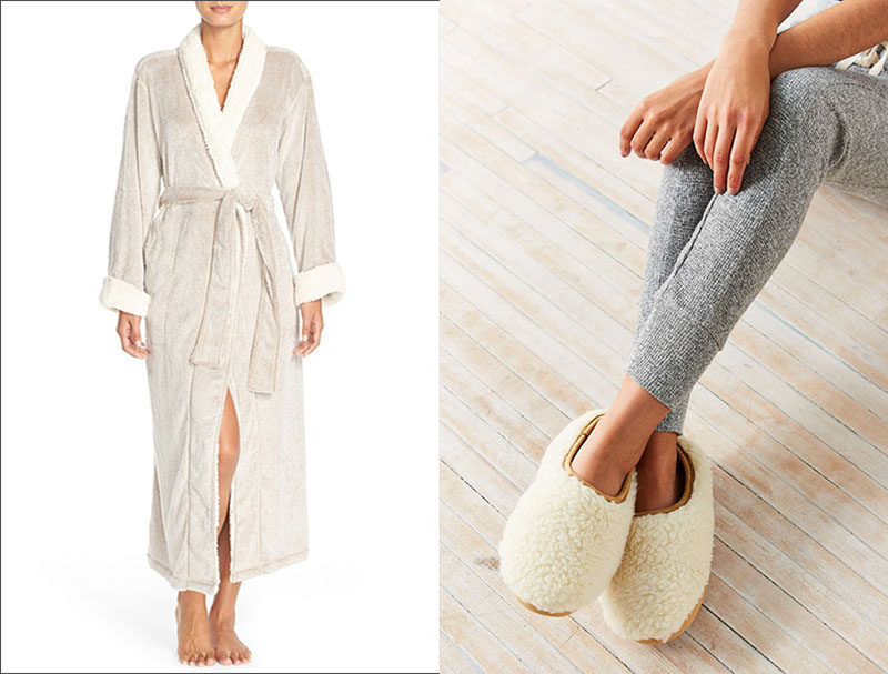 7 Things You Need To Create The Perfect Spa at Home // Lush towels, a cozy robe, and soft slippers are staples in a spa so make sure your spa at home has the same luxurious things awaiting you when you step out of the bath.