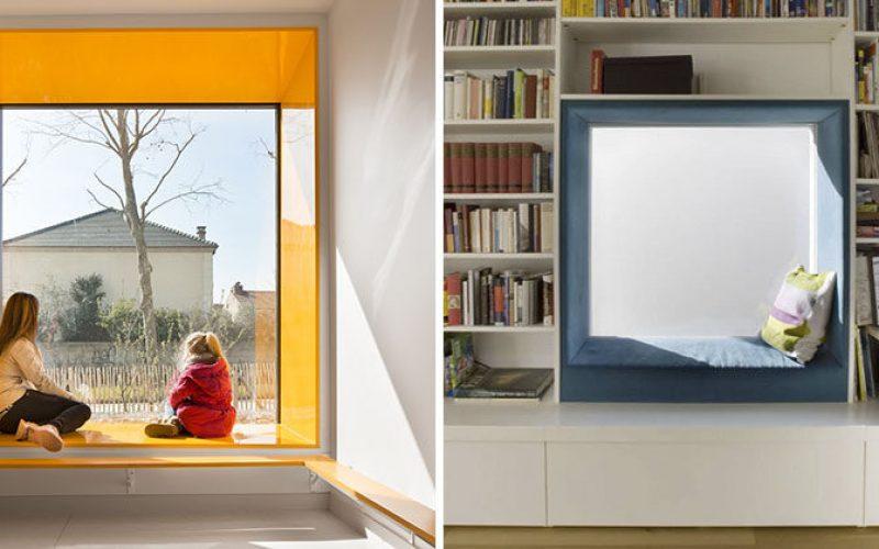 Интерьер Идея Дизайн – Окружите Свои Окна С Цвет