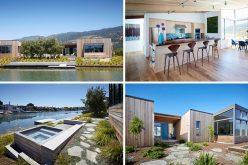 Этот Современный Дом В Калифорнии Был Разработан С Гидромассажной Ванной Рядом С Лагуной