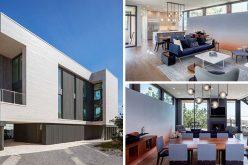 Этот Современный Пляжный Дом Является Заменой Для Дома, Который Был Разрушен В Урагане