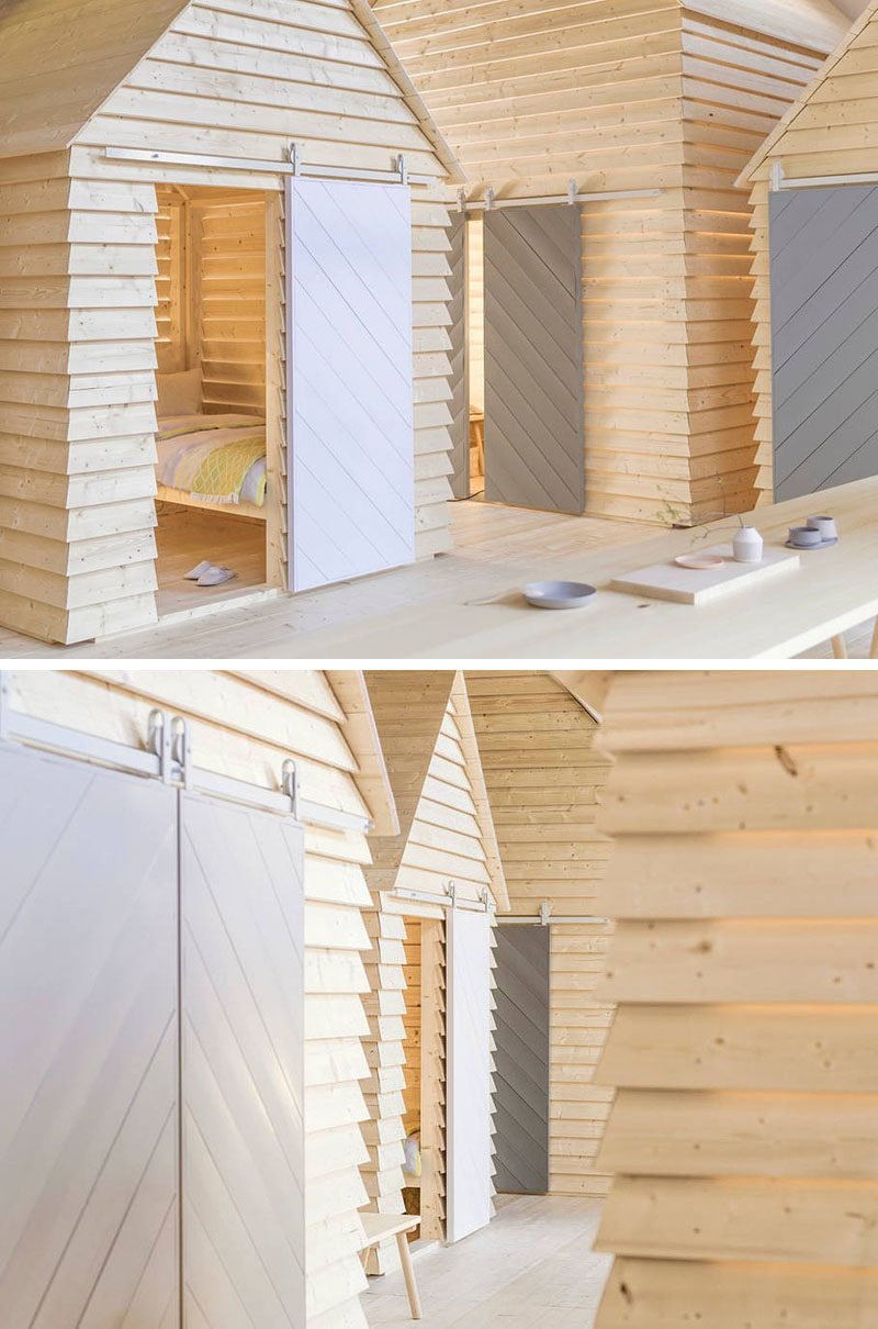 Designer Linda Bergroth has recently revealed KOTI - a series of cottages inside the Finnish Institute in Paris that will be on display as both an exhibit as well as a place for guests who are looking for a unique experience that celebrates the simplicity of Finnish cottage life.