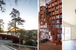 Этот Склон Дом В Лос-Анджелесе Был Построен Вокруг Дерева