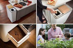 Эта простая система крытый компост превращает пищевые отходы в удобрение за 24 часа
