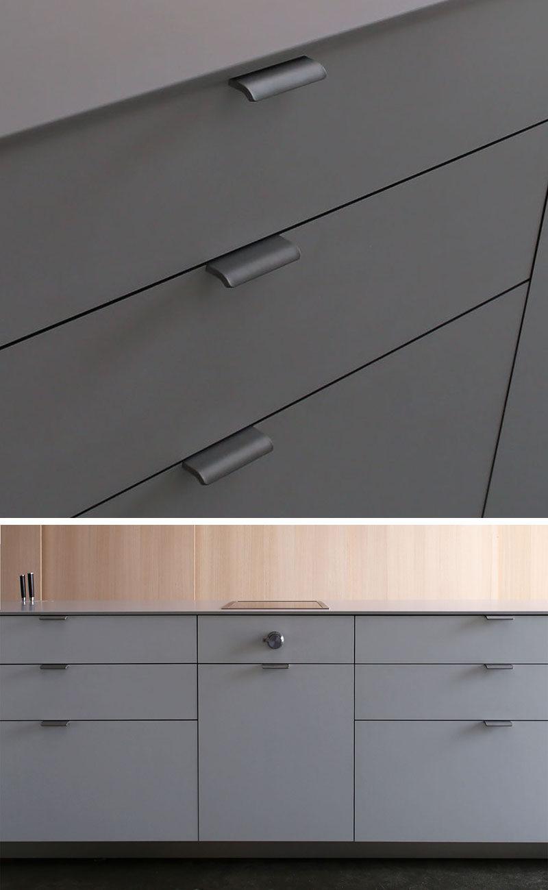 8 Kitchen Cabinet Hardware Ideas // Mortised Pulls