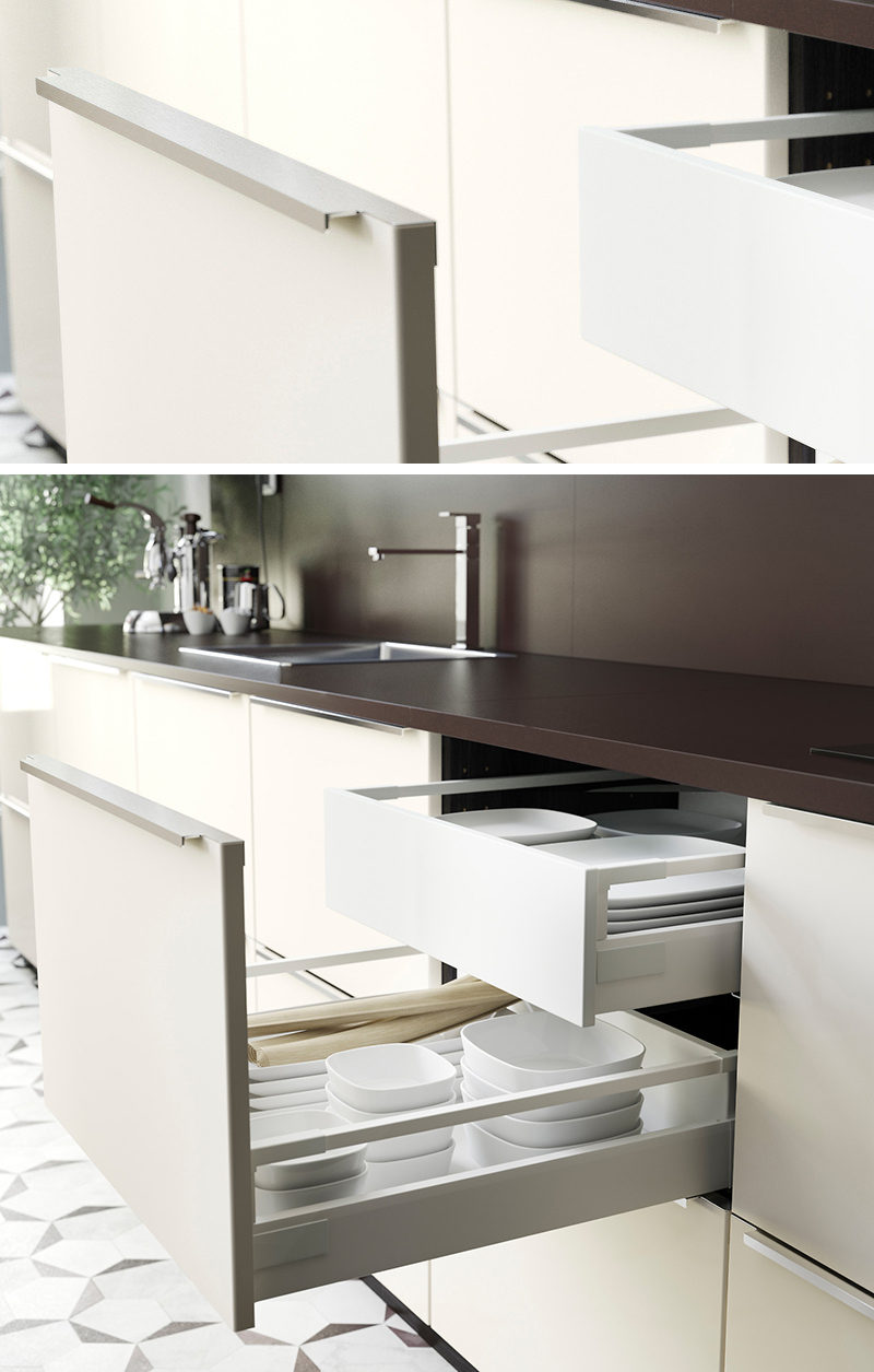 8 Kitchen Cabinet Hardware Ideas // Tab Pulls