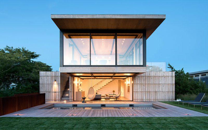 Дизайн Этого Дома В Нью-Йорке Был Вдохновлен Историческим Спасательные Станции Поблизости