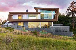 Современный Пляжный Дом Приезжает В Кейп-Код, Штат Массачусетс