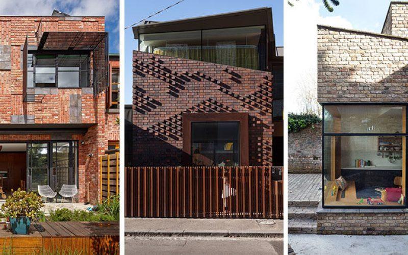 14 Современные Дома Из Кирпича