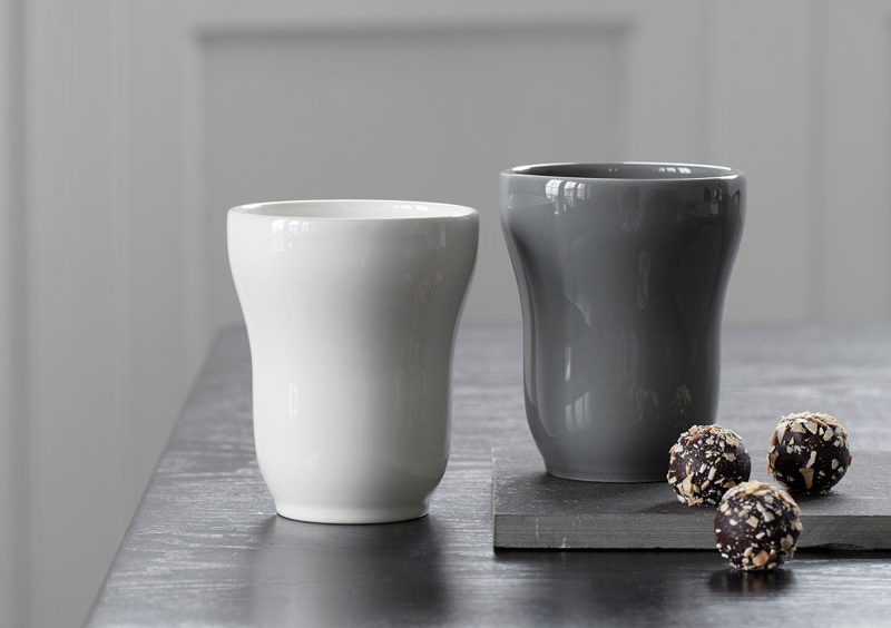Home Decor Ideas - 6 Ways To Include Ceramic In Your Interior // The smooth glossy finish and the curved bodies of these ceramic mugs make them the perfect ones to grab when curling up with a tea or coffee.