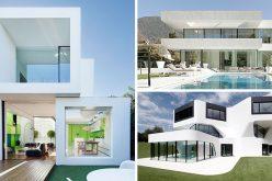 Дом Цветов Кузова – 11 Современных Белых Домов Со Всего Мира