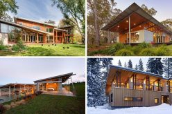 16 Примеры Современных Домов С Ломаной Крышей