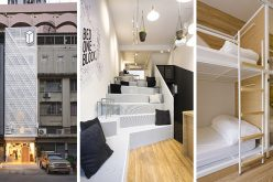 Современный дизайн хостел в Бангкоке, Таиланд приносит свежий взгляд на улицу