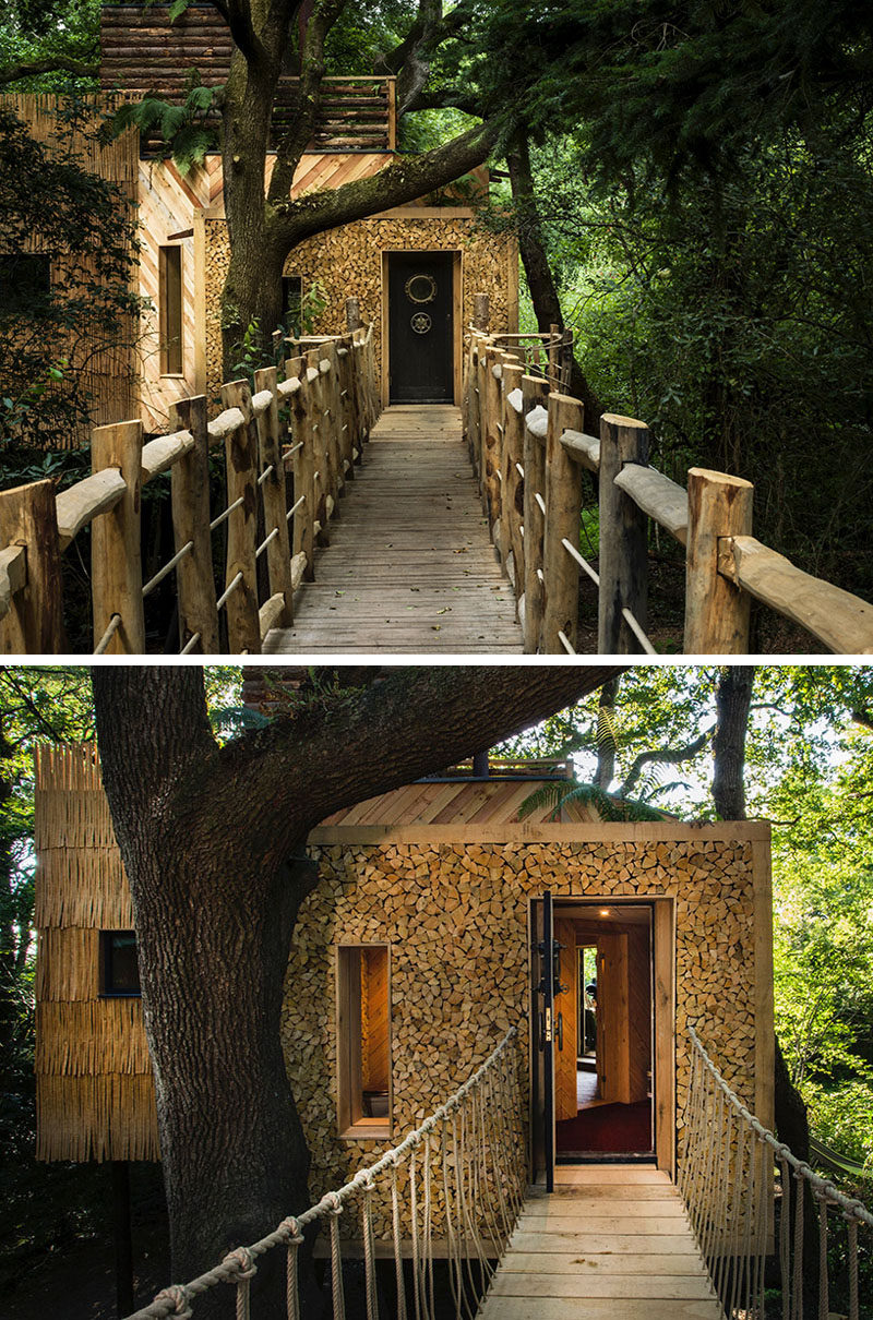This amazing treehouse hotel was designed for adults on vacation