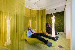 Дизайн Офиса Вдохновения – Это Современный Офис, Гостиная Зона Для Спокойного Отдыха
