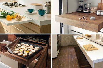 Кухня Идеи Дизайн – Выдвижной Счетчики