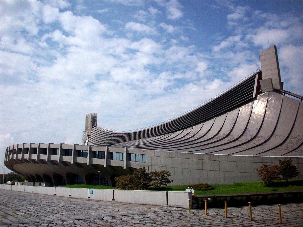 Олимпийский комплекс Кензо Танге в Японии