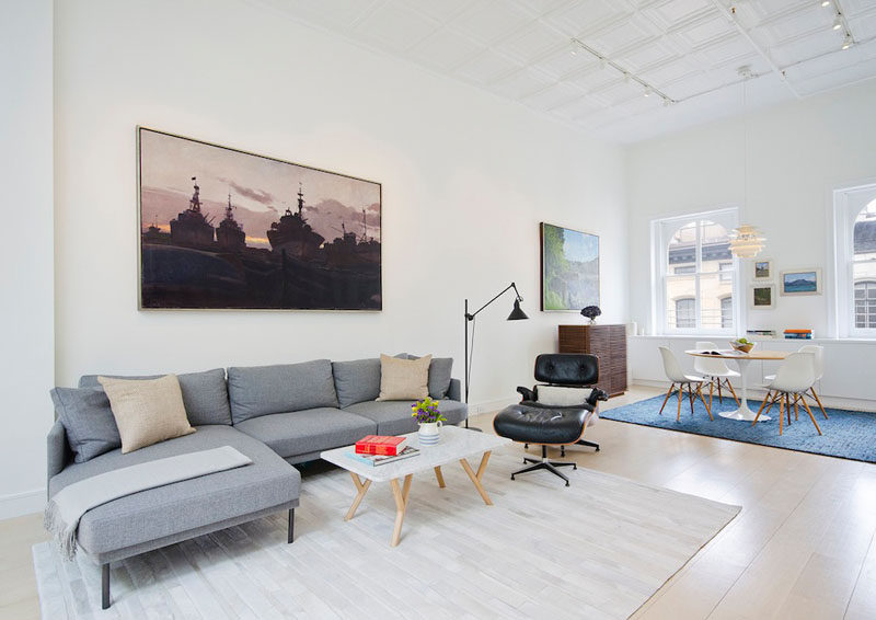 10 Small Living Room Ideas // Define the space with a rug