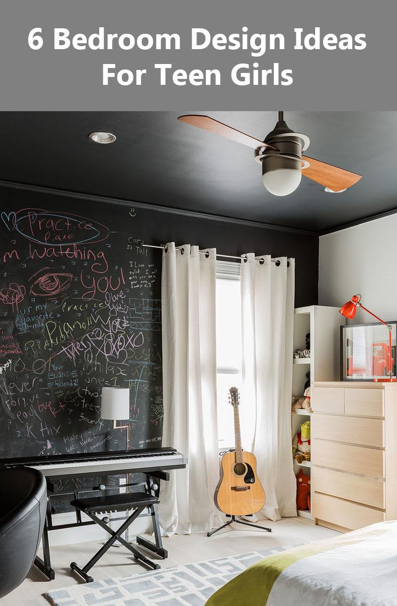 6 Bedroom Design Ideas For Teen Girls