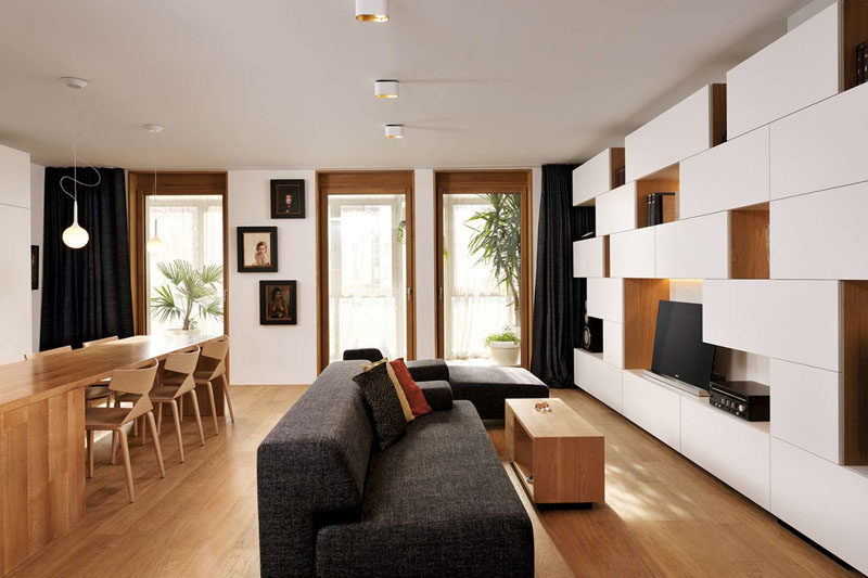 10 Small Living Room Ideas // Surround Your TV With Storage