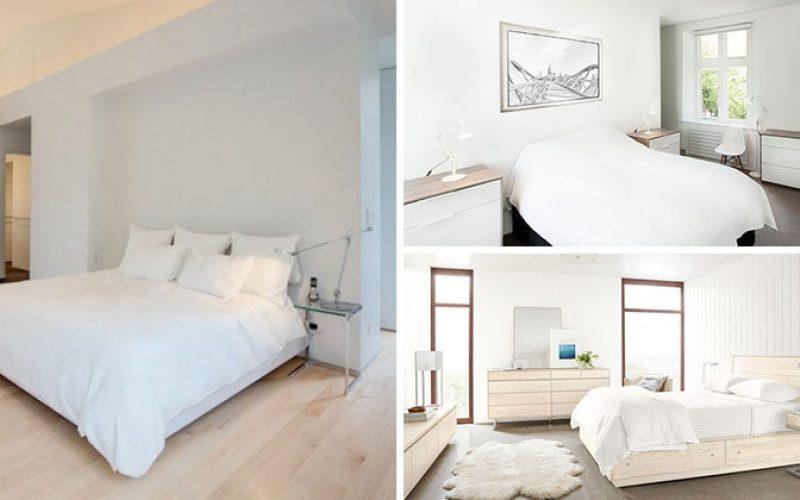 5 Простой Белый Декор Спальни Идеи Для Использования В Своем Доме
