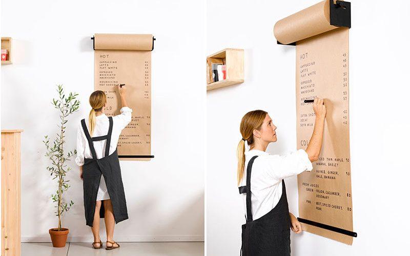 Декор Стен Идеи – Установить Держатель Рулона Бумаги, Чтобы Создать Интересное Место, Чтобы Писать Списки Или Наброски