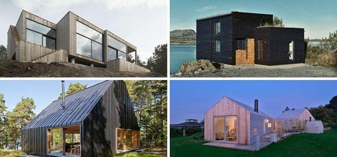 19 Примеры Современный Скандинавский Дом Проекты